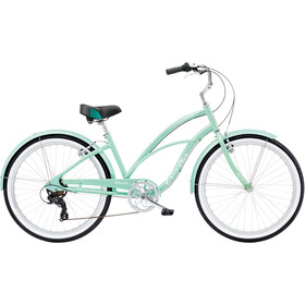 Electra Cruiser Lux 7D Negro Mujer, sea green metallic